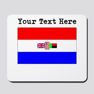 Custom Old South Africa Flag Mousepad