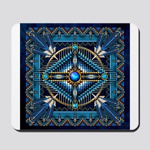 Native American Style Tapestry 3 Mousepad