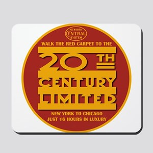 20th Century Limited 2 Mousepad