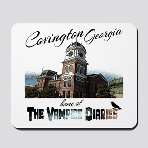 Covington Georgia Home of The Vampire Di Mousepad