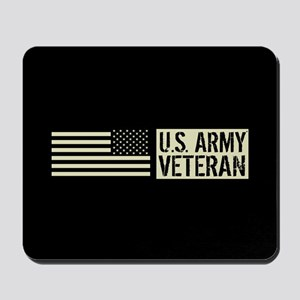 U.S. Army: Veteran (Black Flag) Mousepad