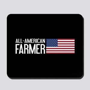 Farmer: All-American (Black) Mousepad