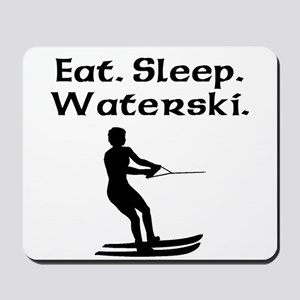 Eat Sleep Waterski Mousepad