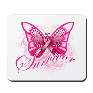 bd9e3ced7 Breast Cancer Butterfly Gifts - CafePress