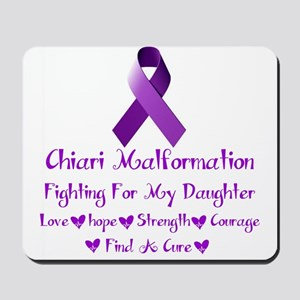 fighting for my daughter Mousepad