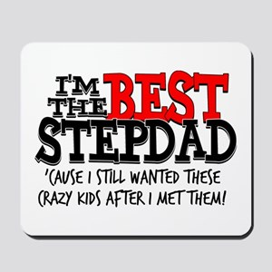 Best Stepfather Mousepad