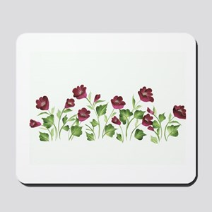 Purple Poppies Mousepad