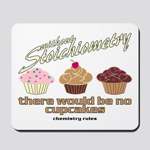 Chemistry Cupcakes Mousepad
