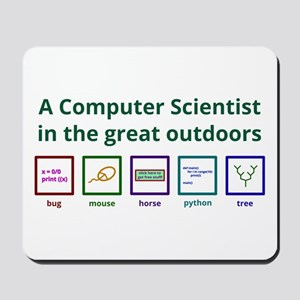 A Computer Scientist In The Great Mousepad