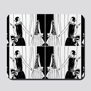 1920s flapper 2 Mousepad
