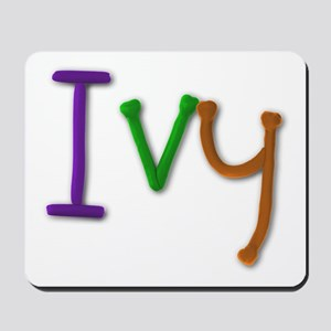Ivy Play Clay Mousepad