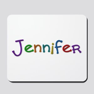 Jennifer Play Clay Mousepad