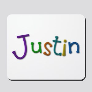 Justin Play Clay Mousepad