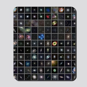 Messier objects, full set Mousepad