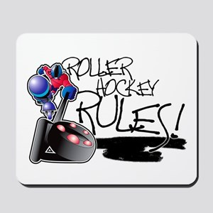 Roller Hockey Rules! Mousepad