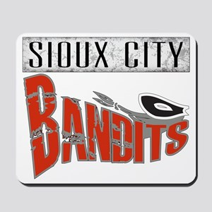 Sioux City Bandits Grunge Mousepad