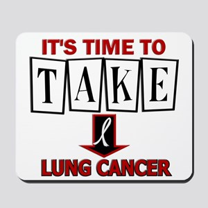 Take Down Lung Cancer 3 Mousepad