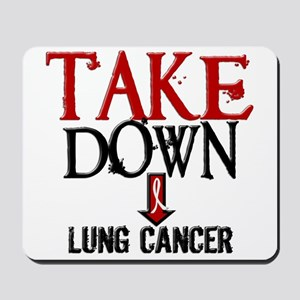 Take Down Lung Cancer 2 Mousepad