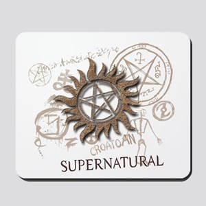 SUPERNATURAL Rusty Metal Mousepad