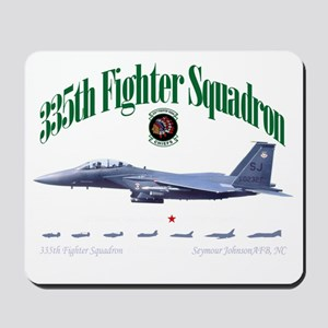 EagleStrike black Mousepad