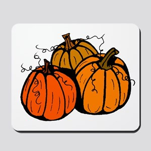 Three Pumpkins Mousepad