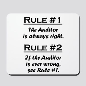 Auditor Mousepad
