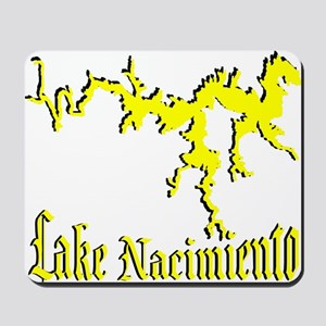 LAKE NACIMIENTO [4 yellow] Mousepad