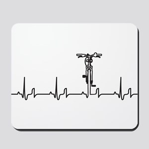 Bike Heartbeat Mousepad