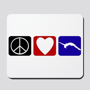 Peace Love Tumble Mousepad