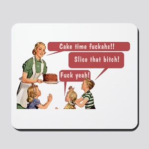 Cake Time Fun Mousepad