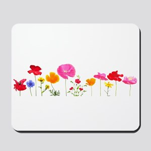 wild meadow flowers Mousepad