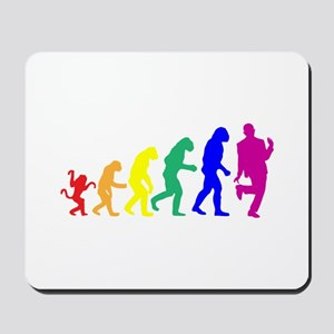 Gay Evolution Mousepad