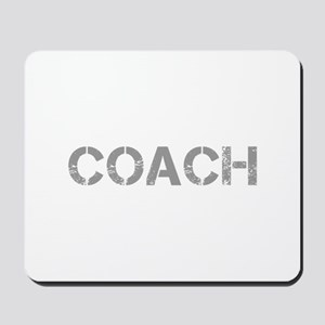 coach-CAP-GRAY Mousepad