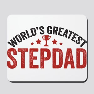 World's Greatest Stepdad Mousepad