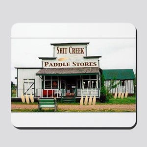 Shit's Creek Paddle Store Mousepad