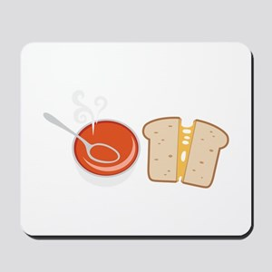 Soup  & Sandwich Mousepad