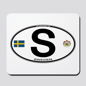 Sweden Euro-style Code Mousepad