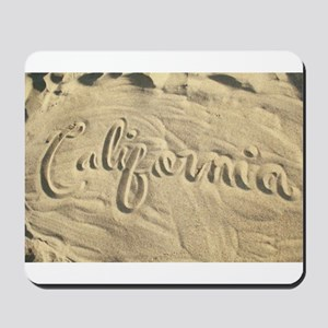 CALIFORNIA SAND Mousepad