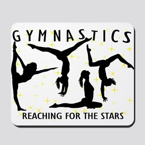 Gymnastics Reaching For The Stars Mousepad
