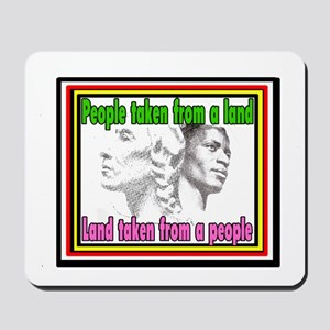 Native Americans and Black Americans Mousepad