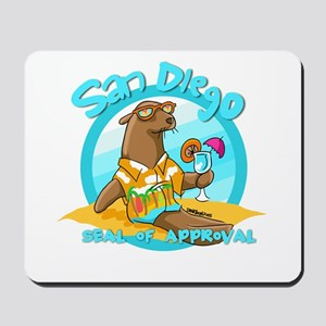 San Diego Seal of Approval Mousepad