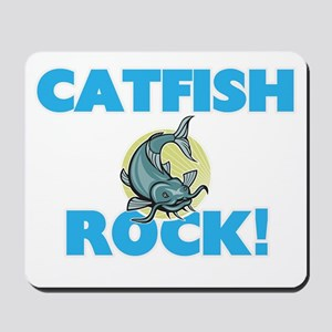 Catfish rock! Mousepad