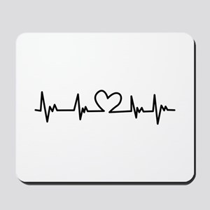 Heart Beat Mousepad