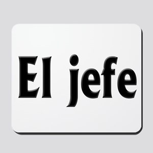 El jefe (The Boss) Mousepad