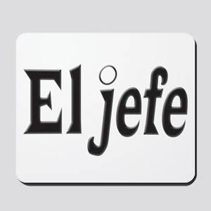 El jefe The Boss Mousepad