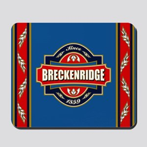 Breckenridge Old Label Mousepad