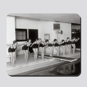 Girls Swim Team, 1930 Mousepad