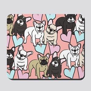 French Bulldogs Mousepad