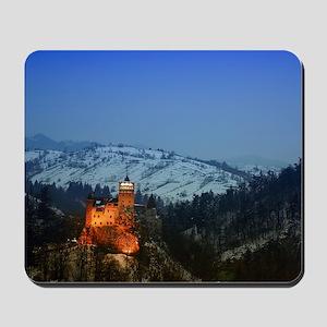 bran castle  Mousepad
