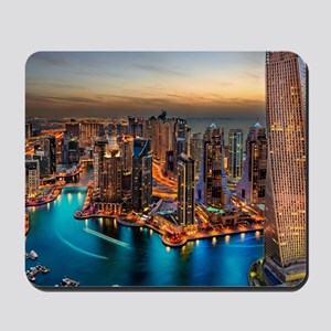 Dubai Skyline Mousepad